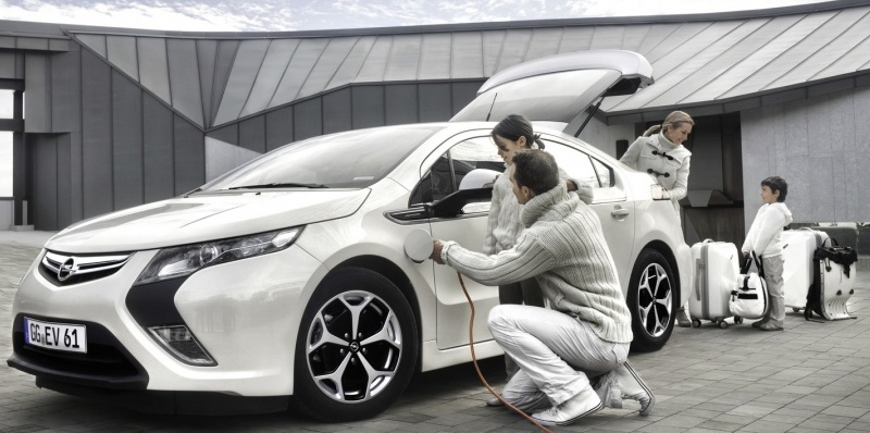 Recharge Opel Ampera