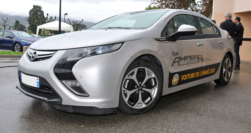 Opel Ampera officielle